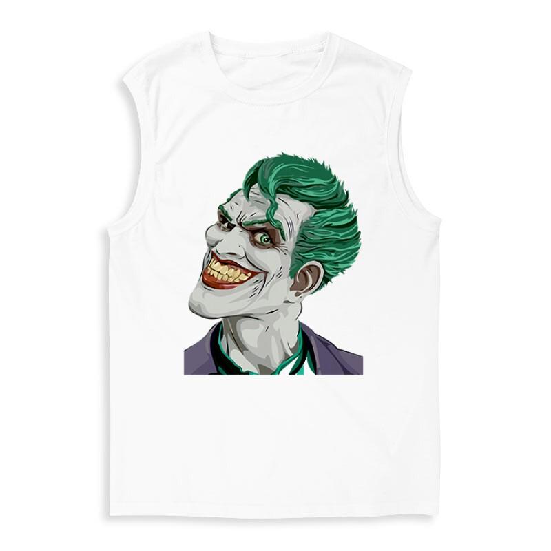 Joker Face Color Férfi Trikó