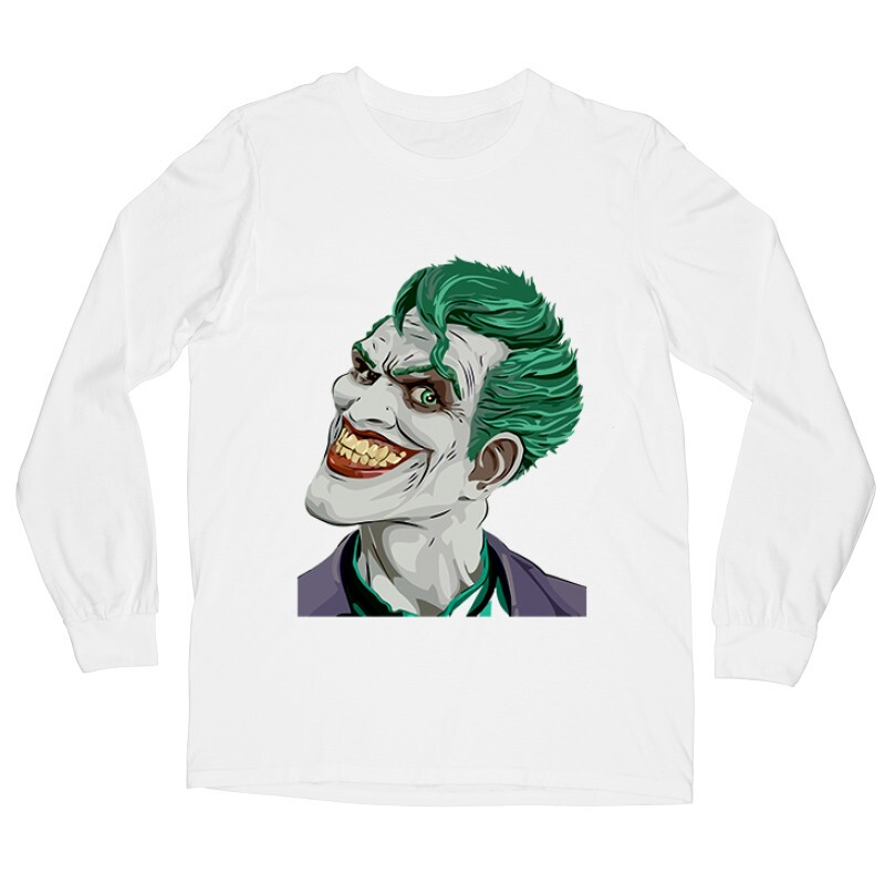 Joker Face Color Hosszú ujjú póló