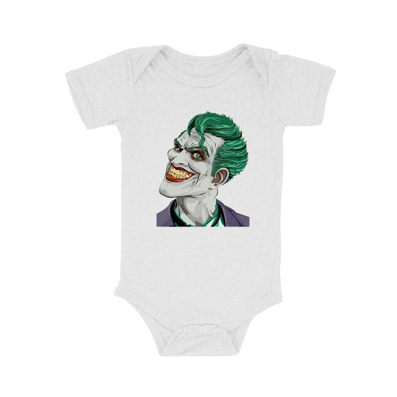 Joker Face Color Bébi body