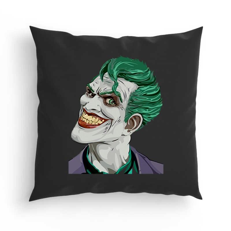 Joker Face Color Párna
