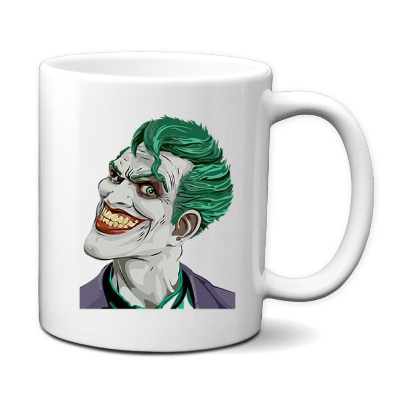 Joker Face Color Bögre