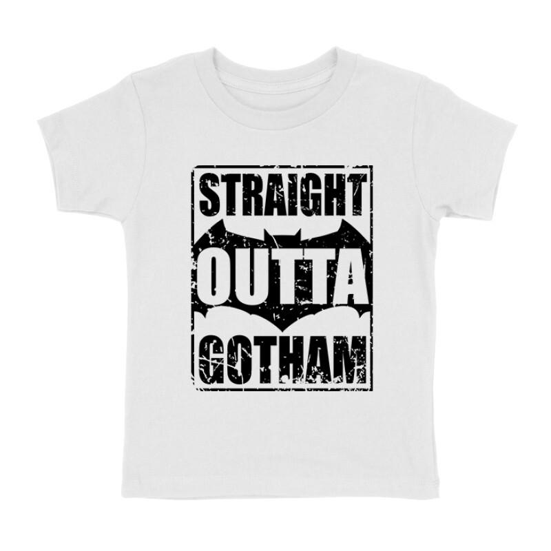Straight Outta Gotham Gyermek póló
