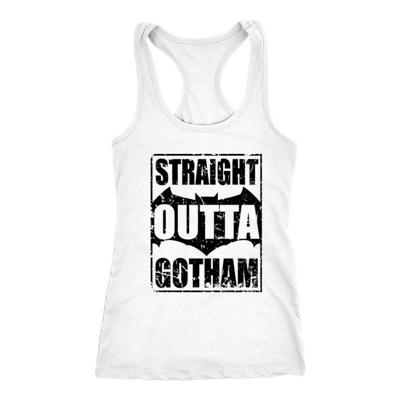 Straight Outta Gotham Női Trikó