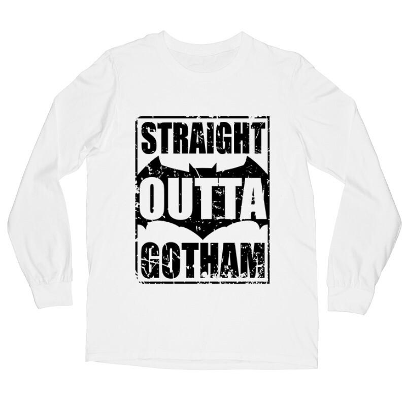 Straight Outta Gotham Hosszú ujjú póló