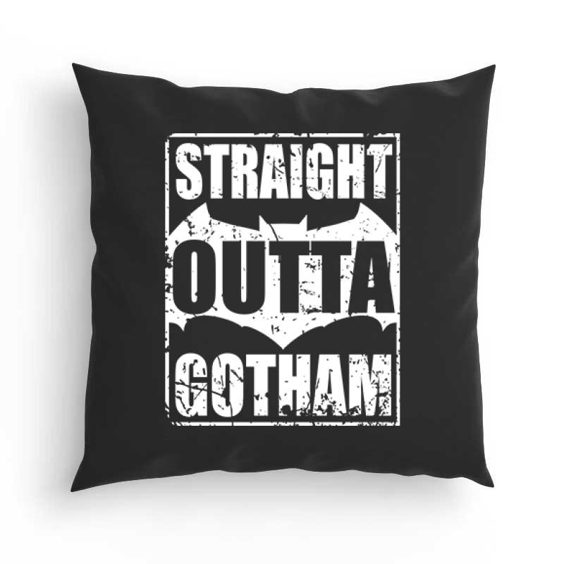 Straight Outta Gotham Párna