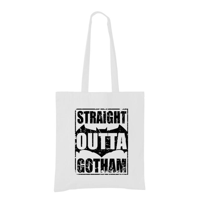 Straight Outta Gotham Bevásárló táska