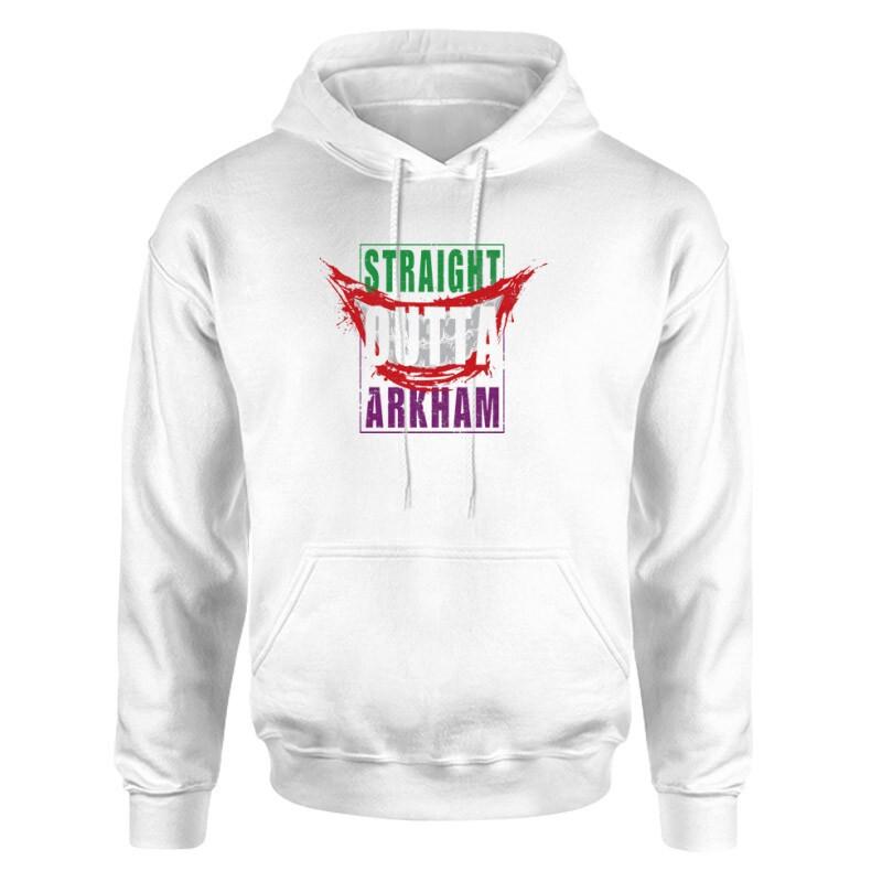 Straight Outta Arkham Unisex pulóver
