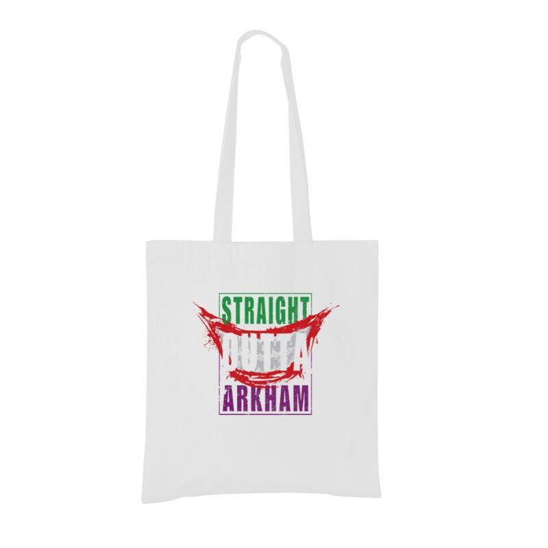 Straight Outta Arkham Bevásárló táska