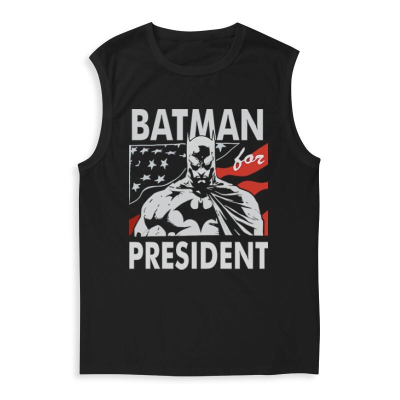 Batman For President Férfi Trikó