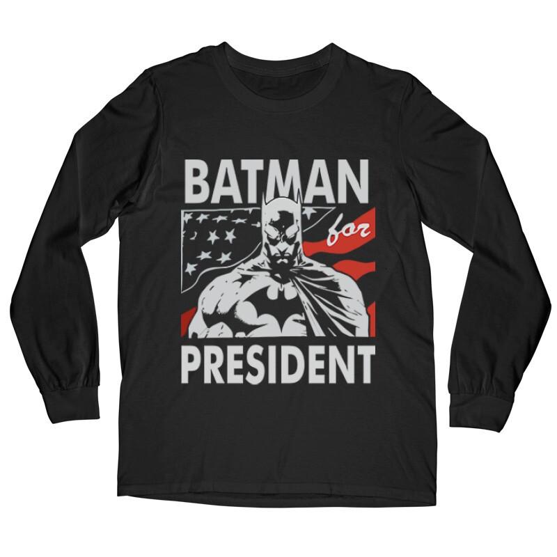 Batman For President Hosszú ujjú póló