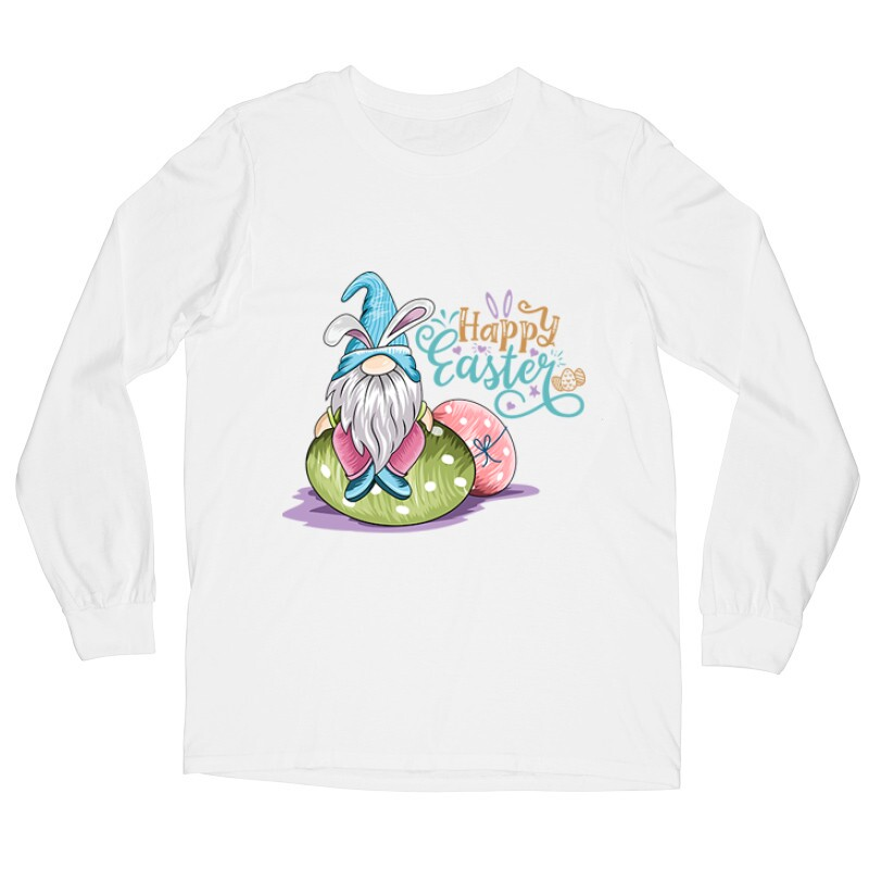 Happy Easter Hosszú ujjú póló