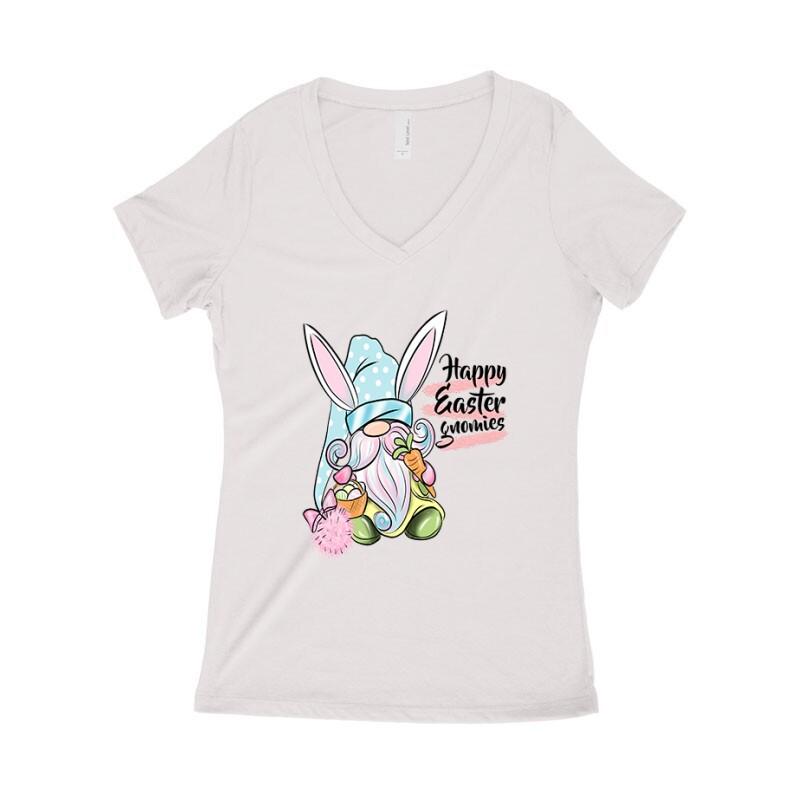 Gnomies Bunny Női póló V kivágott