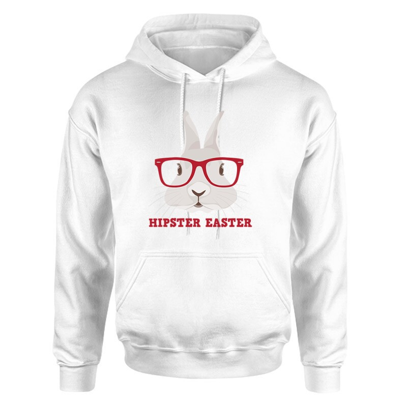 Hipster Easter Unisex pulóver