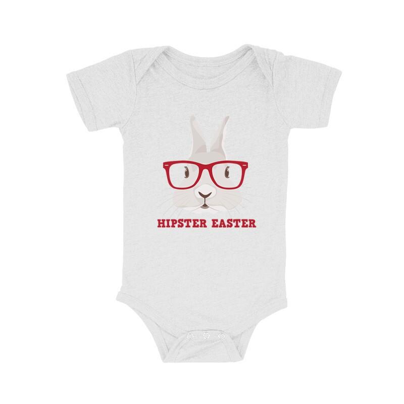 Hipster Easter Bébi body
