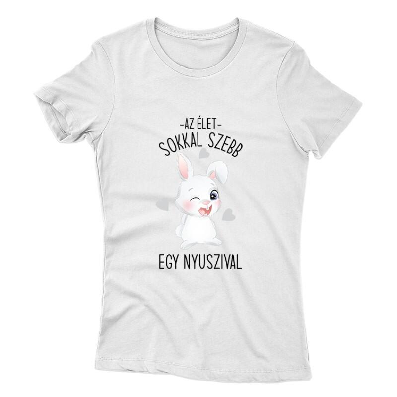 Az Élet Nyuszival Női póló