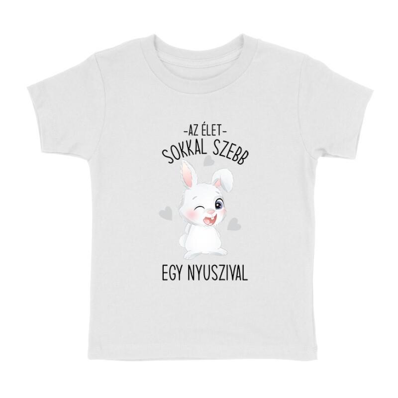 Az Élet Nyuszival Gyermek póló
