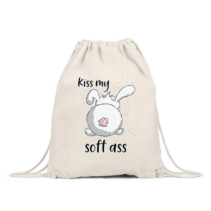 Kiss My Soft Ass Tornazsák