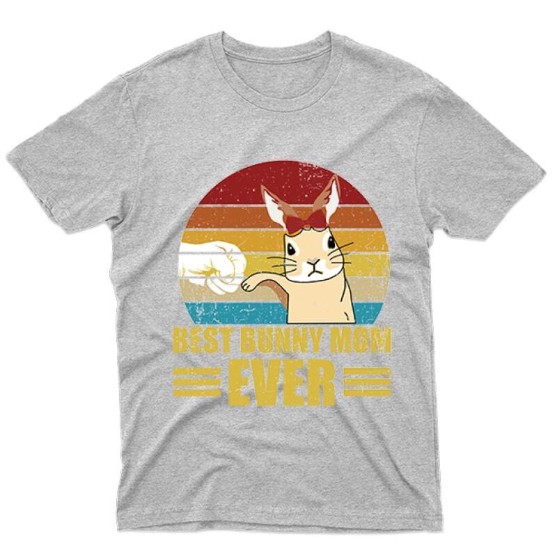 Best Bunny Mom Férfi póló