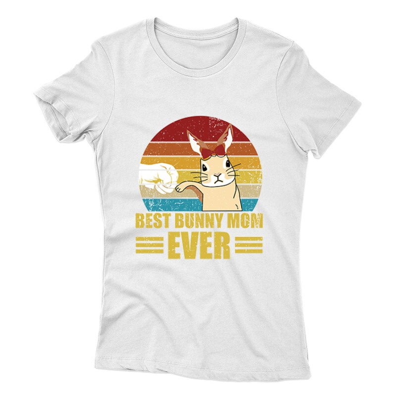 Best Bunny Mom Női póló
