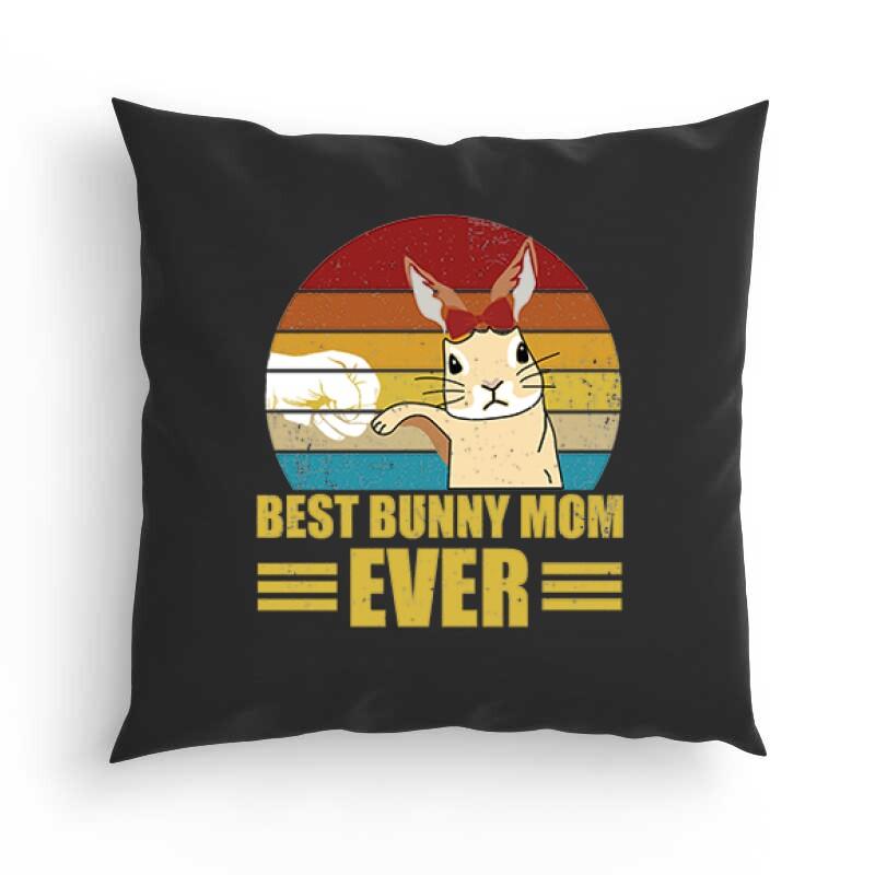 Best Bunny Mom Párna