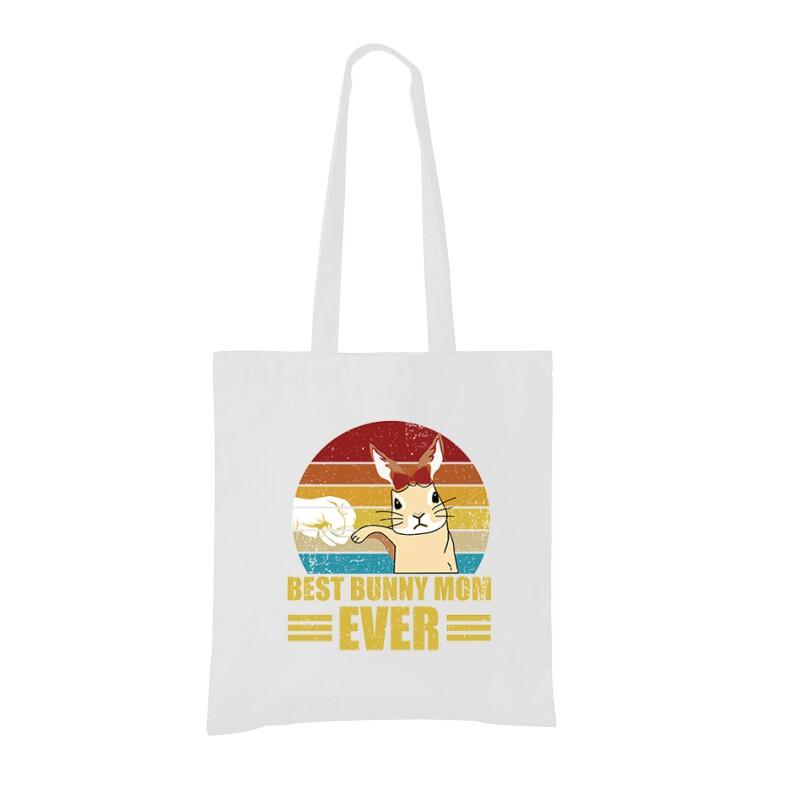 Best Bunny Mom Bevásárló táska