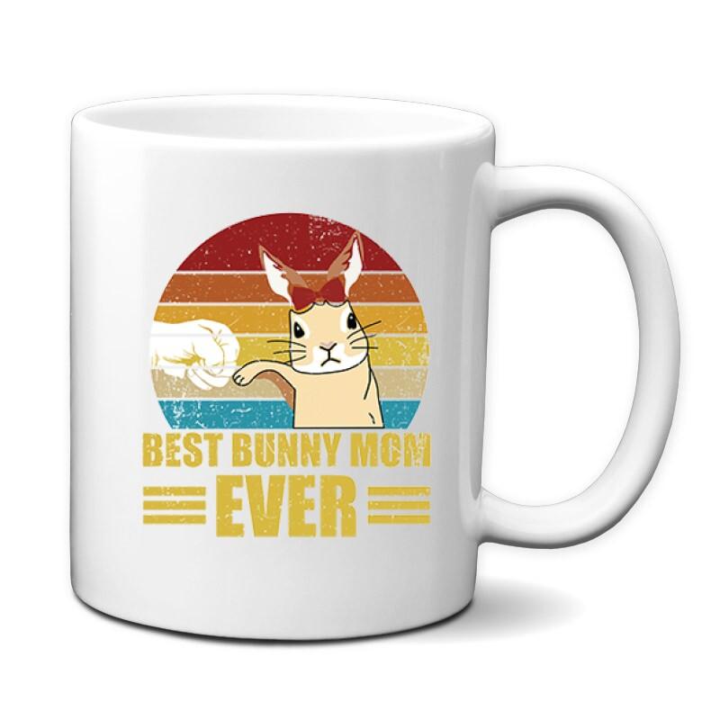 Best Bunny Mom Bögre
