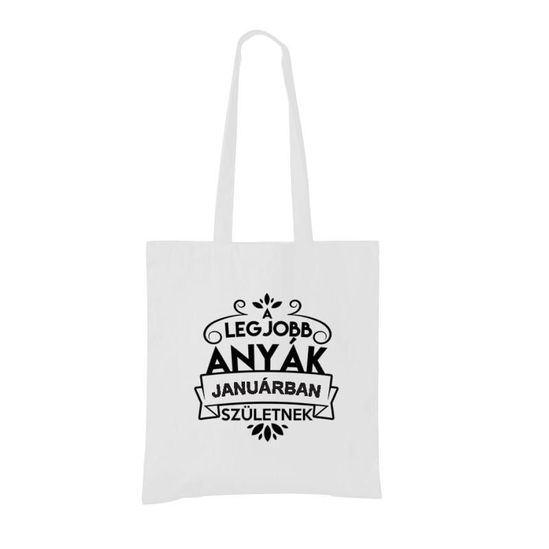 Legjobb Anyák Januárban Születnek Bevásárló táska