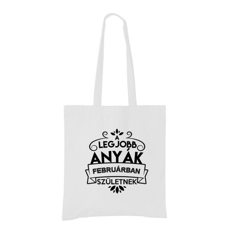 Legjobb Anyák Februárban Születnek Bevásárló táska