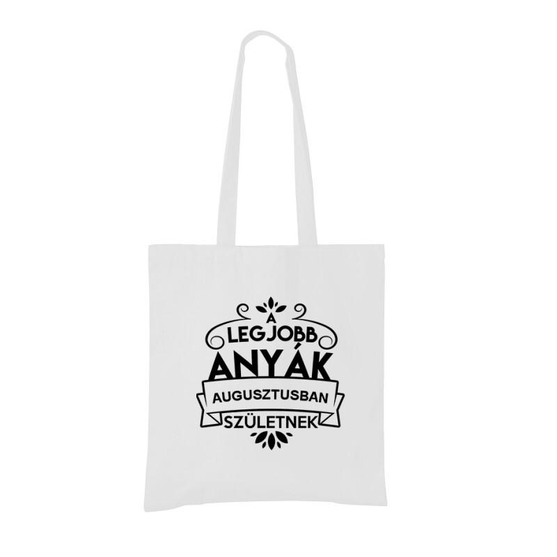 Legjobb Anyák Augusztusban Születnek Bevásárló táska