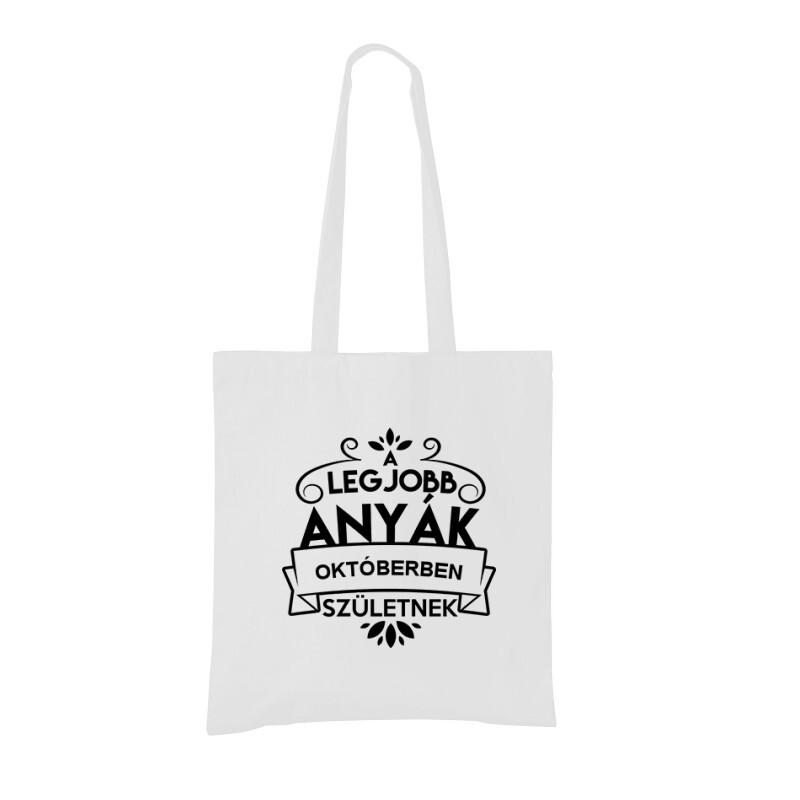 Legjobb Anyák Októberben Születnek Bevásárló táska