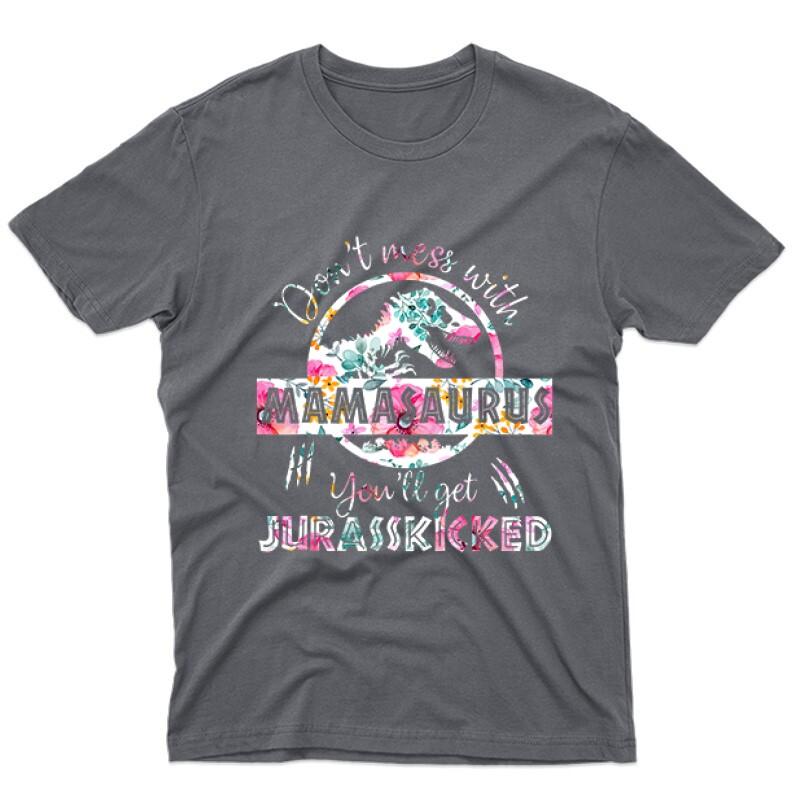 Mamasaurus Flower Férfi póló