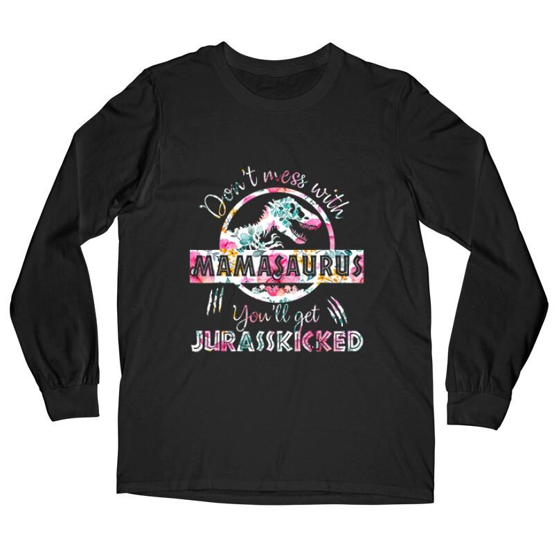 Mamasaurus Flower Hosszú ujjú póló