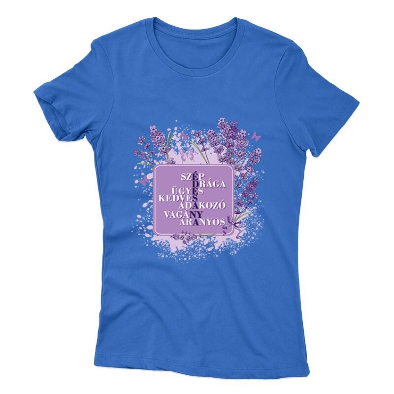 Édesanya (Levendula) Női póló