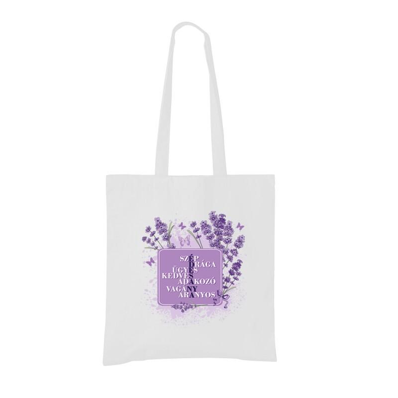 Édesanya (Levendula) Bevásárló táska