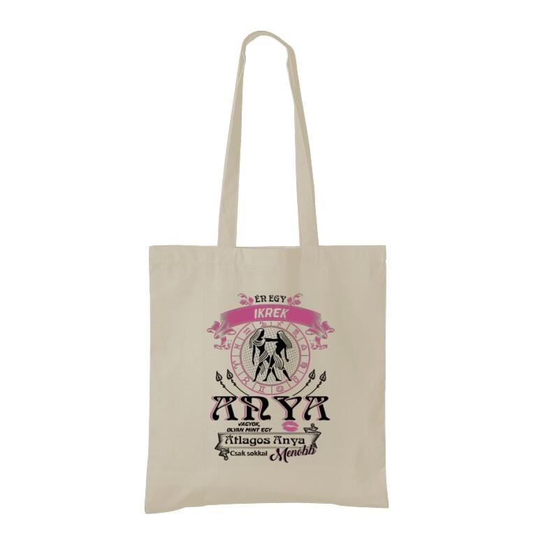 Ikrek Anyuka Vagyok Bevásárló táska
