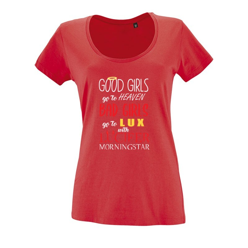 Go to Heaven O nyakú női póló