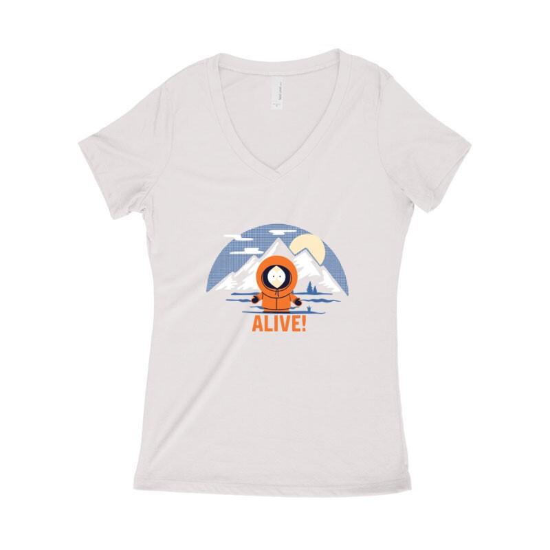 Alive Női póló V kivágott