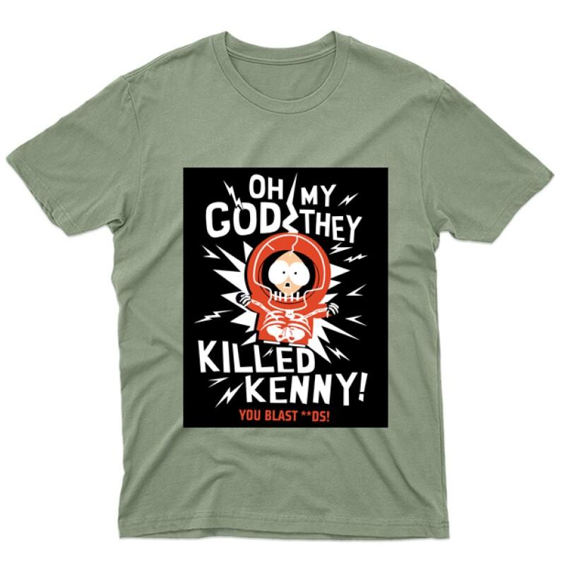 Killed Kenny Férfi póló