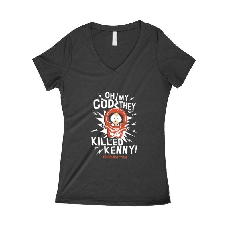 Killed Kenny Női póló V kivágott